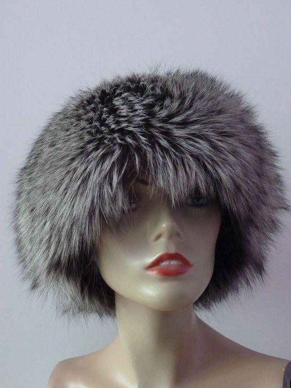 decd028826c Kožešinová čepice z lišky stříbrné · Kožešinová čepice z lišky stříbrné ...